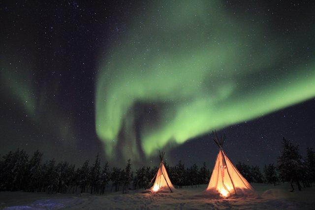 aurora boreale canada